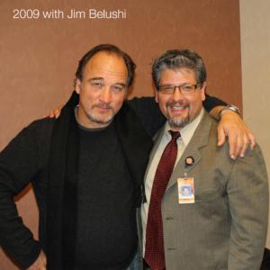 Jim Belushi and Russ - 2009
