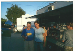 Russ with Ty Pennington